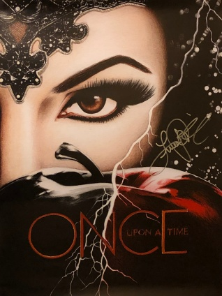 Signed EQ poster
