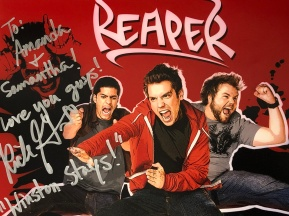 Signed Reaper picture